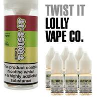 Twist It by Lolly Vape e-liquids 80% VG - 60ml