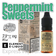 Peppermint Sweets - Tonix e-liquids by ELEMENT - 73% VG - 10ml