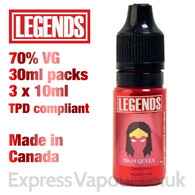 Prom Queen - LEGENDS e-liquid - 70% VG - 30ml