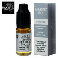 Sting Ray - Naked Fish e-liquids 70% VG 10ml