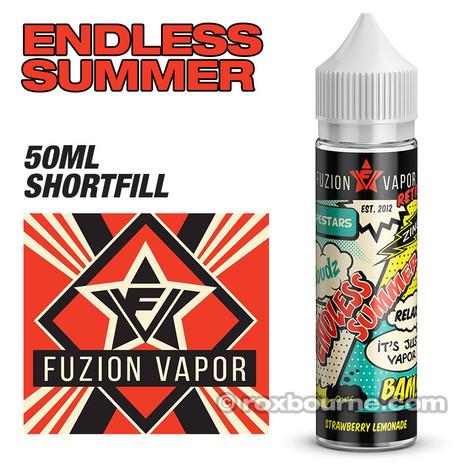 ENDLESS SUMMER - Fuzion Vapor e-liquids 65% VG 50ml