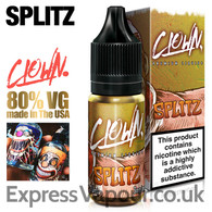 SPLITZ - Clown e-liquids 80% VG 10ml