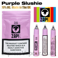 Purple Slushie by ZAP Juice e-liquid 70% VG 30ml