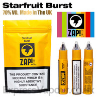 Starfruit Burst by ZAP Juice e-liquid 70% VG 30ml