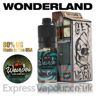 Wonderland - Weirdos Creamery e-liquid 80% VG 10ml