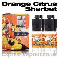 Orange Citrus Sherbet - Drip Up e-liquids 70% VG 40ml