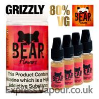 GRIZZLY - Bear Flavor e-liquid - 80% - 40ml