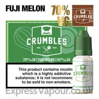 Fuji Melon - Crumbles e-liquid - 70% - 30ml