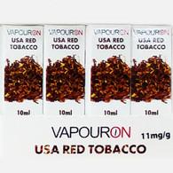 USA Red Tobacco - VAPOURON e-liquid - 10ml