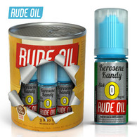 Kerosene Kandy - Rude Oil e-liquid 80% VG 30ml