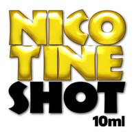 unflavoured nicotine shot - 10ml - 18mg