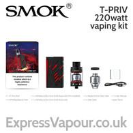 SMOK T-PRIV 220w vaping kit