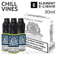Chill Vines - Quiet Owl eliquid by Element - 30ml
