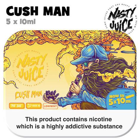Cush Man - Nasty Juice e-liquid - 70% VG - 50ml
