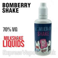 BOMBERRY SHAKE by Milkshake e-liquid - 70% VG - 50ml