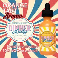 Orange Tart - Dinner Lady Aroma e-liquids - 70% VG - 50ml