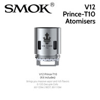 3 pack - SMOK V12 Prince-T10 0.12ohm decuple core atomisers