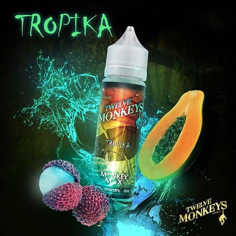 TROPICA - Twelve Monkeys e-liquid - 90% VG - 50ml