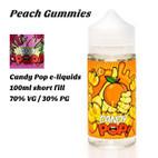 Peach Gummies - Candy Pop e-liquids - 100ml