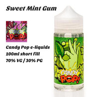 Sweet Mint Gum - Candy Pop e-liquids - 100ml