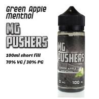 Green Apple Menthol - MG Pushers e-liquids - 100ml