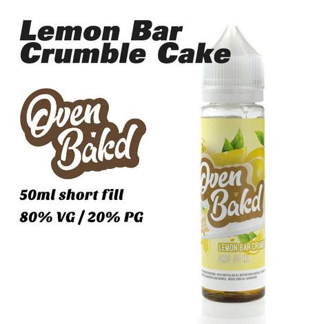 Lemon Bar Crumble Cake - Oven Bak'd e-liquids - 50ml