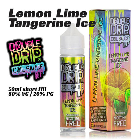 Lemon Lime Tangerine Ice - Double Drip e-liquids - 50ml