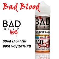 Bad Blood - by Bad Drip e-liquid - 80% VG - 50ml