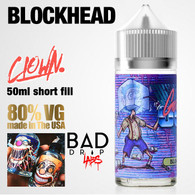 Blockhead Clown e-liquid by Bad Drip Labs - 80% VG - 50ml