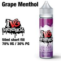 Grape Menthol by I VG e-liquids - 50ml