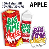 Apple - Big Time Juice - 70% VG - 100ml