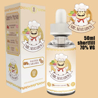 Salted Caramel - Mr Macaron e-liquid - 70% VG - 50ml