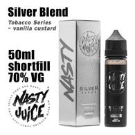 Silver Blend Tobacco - Nasty e-liquid - 70% VG - 50ml
