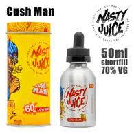 Cush Man - Nasty e-liquid - 70% VG - 50ml