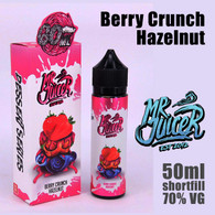 Berry Crunch Hazelnut - Mr Juicer e-liquid - 70% VG - 50m