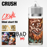 CRUSH - Clown e-liquid by Bad Drip Labs - 80% VG - 50ml