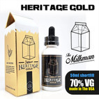 Gold by The Milkman Heritage – 70% VG – 50ml