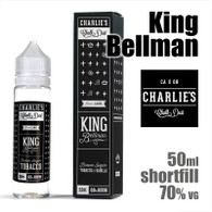 King Bellman - Charlies Chalk Dust e-liquids - 50ml