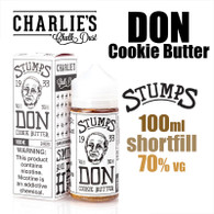 Don Cookie Butter - Stumps eliquid by Charlies Chalk Dust - 100ml
