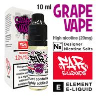 Grape Vape - FAR NicSalt e-liquid by ELEMENT - 10ml