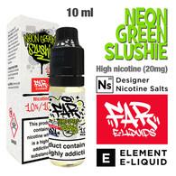 Neon Green Slush  - FAR NicSalt e-liquid by ELEMENT - 10ml