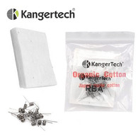 Kanger SUBTANK RBA Pre-Built 0.5 ohm Coils and Japanese Cotton Wick Pack