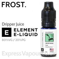 Frost - ELEMENT 80% VG Dripper e-Liquid - 10ml