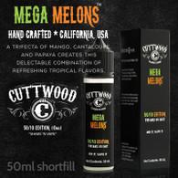 Mega Melons e-liquid – Cuttwood Vapor – 70% VG – 50ml