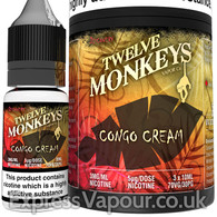 CONGO CREAM - Twelve Monkeys e-liquid - 70% VG - 30ml