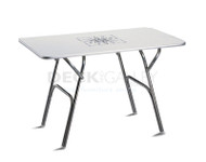 Forma Marathon  120x75cm Deck Table - White