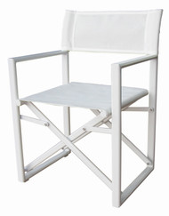 Valdenassi Nausicaa Directors Chair - White