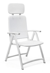 Nardi Acquamarina Reclining Chair - White