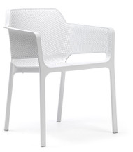 Nardi Net Deck Chair - White