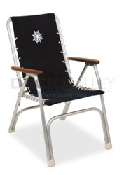 Forma Marathon Deck Chair – Black